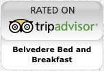 Belvedere Bed and Breakfast, rated on Trip Advisor